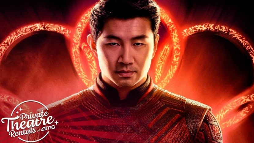 샹치 극장 상영을 홍보하는 AMC 광고