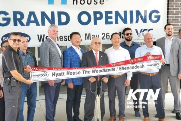 삼문 그룹 (회장 문 대동)은 지난달 26일, 삼문 그룹 주요 임원들과 쉐넌도 시 주요관계자들이 참가한 가운데, 휴스턴 인근 우드랜드에 있는 하얏트 하우스 호텔의 그랜드 오프닝 행사를 가졌다.