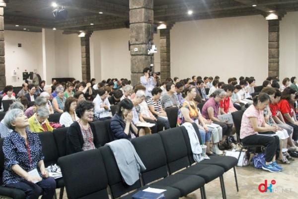 지난 2018년 8월 8일(수)~11일(토)까지 텍사스 린데일에 위치한 자마 글로벌 캠퍼스에서 중보기도 컨퍼런스가 열린 모습.