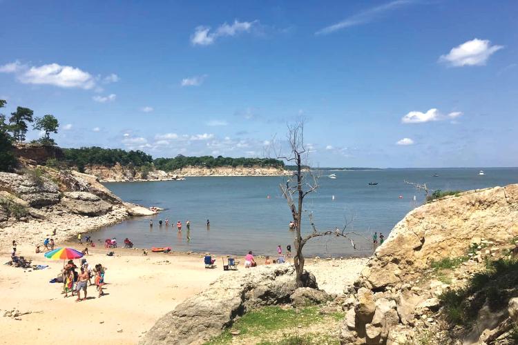 1. 아이젠하워 스테잇 파크 해변 (데니슨)  Eisenhower State Park Beach (Denison)