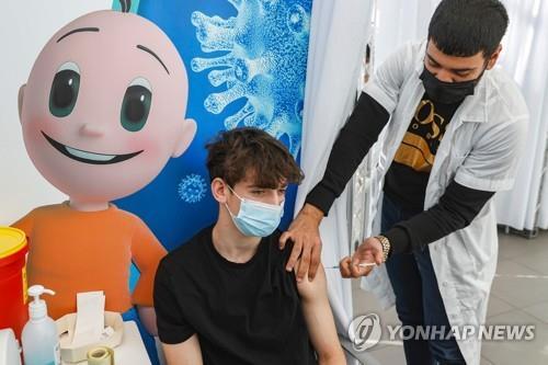 이스라엘 10대 청소년에 코로나19 백신 접종 개시