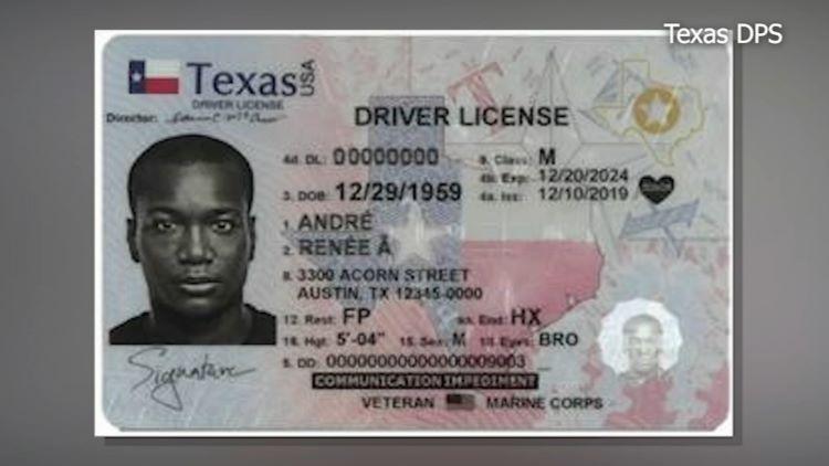 코로나 19 팬데믹 동안 운전면허증 유효 기간 만료 면제를 받은 운전자들은 서둘러 면허증을 갱신해야 한다. (사진 출처: ABC13 / Texas DPS)