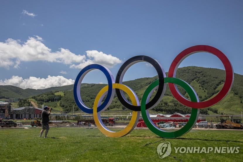 언론에 공개되는 2022 베이징 동계올림픽 선수촌