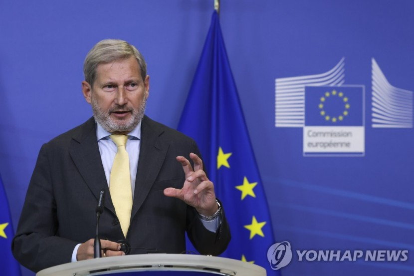 요하네스 한 예산 담당 유럽연합(EU) 집행위원